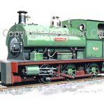 418 Lamport Ironstone Co. Peckett 0-6-0ST No.1316 'Scaldwell'