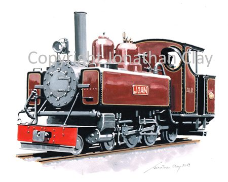 419 Ashover Light Railway Baldwin 4-6-0T 'Joan'