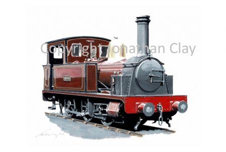 424 Padarn Railway Hunslet 0-6-0T 'Velinheli'