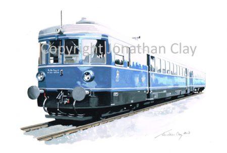 946 BAOR Ex. DB Diesel-Hydrailic Multiple Unit