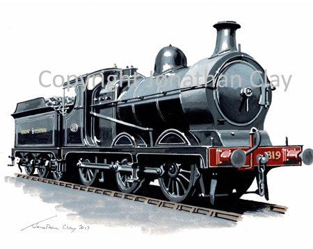 949 Great Central Railway 'Pom-Pom' 0-6-0 No.319