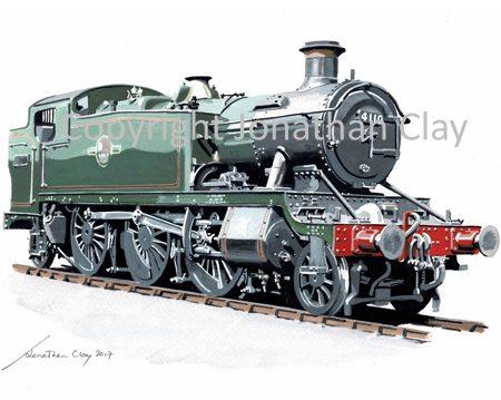 955 GWR Large Prairie No.4110