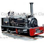 429 Teifi Valley Railway Hunslet 0-4-0ST 'Alan George'