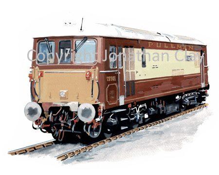 961 Class 73 Electro-Diesel No. 73 101 The Royal Alex