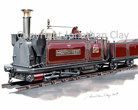 433 Festioniog Railway George England Loco 'Mountaineer (red)
