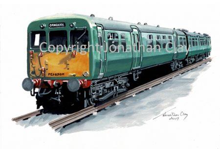 964 BR Ex LMS Class 502 Electric Multiple Unit