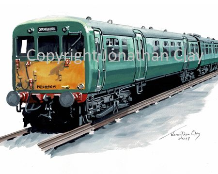 964 BR Ex LMS Class 502 Electric Multiple Unit