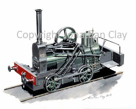 971 Trehowell Colliery Isaac Boulton 0-4-0TG 'Rattlesnake''