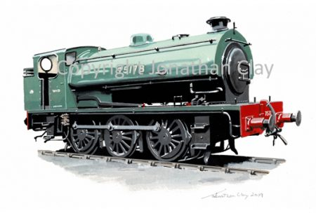 972 Bodmin & Wenford Railway Hunslet 'Austerity' 0-6-0ST No.75178