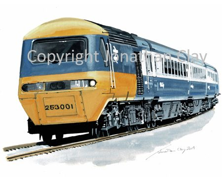 978 BR Inter City HST No. 253 001