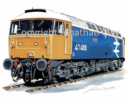 981 Class 47 No. 47 488 'Rail Riders'