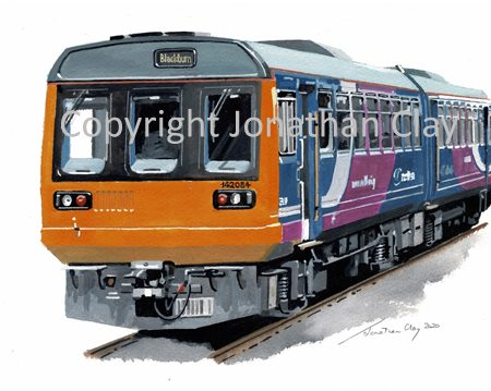 989 Northern Rail Pacer DMU No.142 084