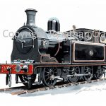 991 Taff Vale Railway 0-6-2T No.28