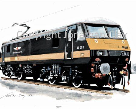 994 Grand Central Class 90 No. 90 026