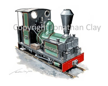 443 Kerry Tramway Bagnall 0-4-0T 'Excelsior'