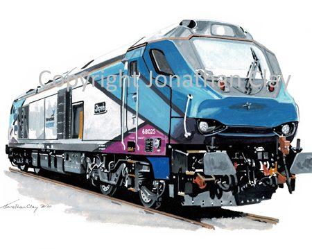 995 Class 68 No.68 025 'Superb'