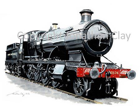 997 GWR 28XX 2-8-0 No.2874
