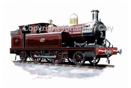 1001 Barry Railway Class J 2-4-2T No.89