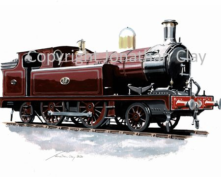 1001 Barry Railway Class J 2-4-2T No.89