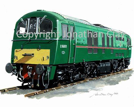 1004 Class 71 No. E5001